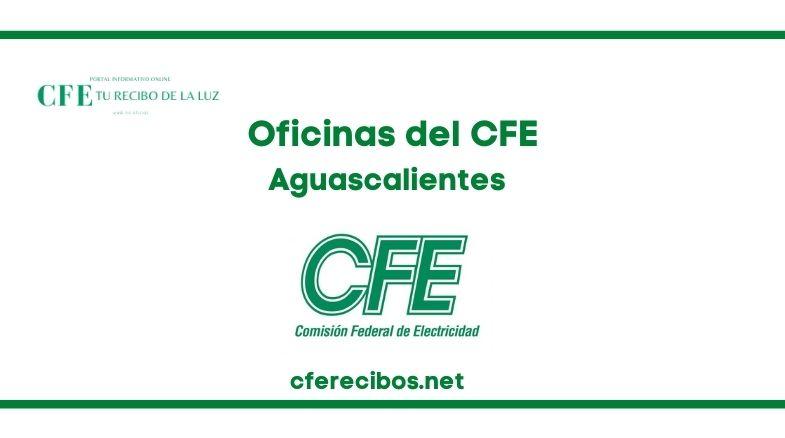 Oficinas CFE en Aguascalientes