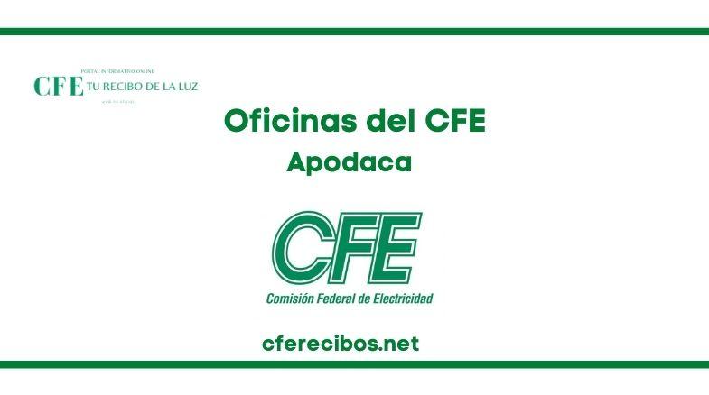 Oficinas CFE en apodaca