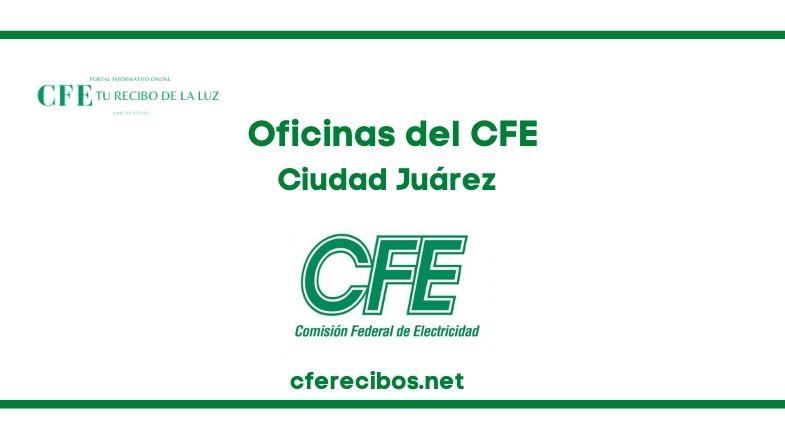 Oficinas CFE en Ciudad Juárez