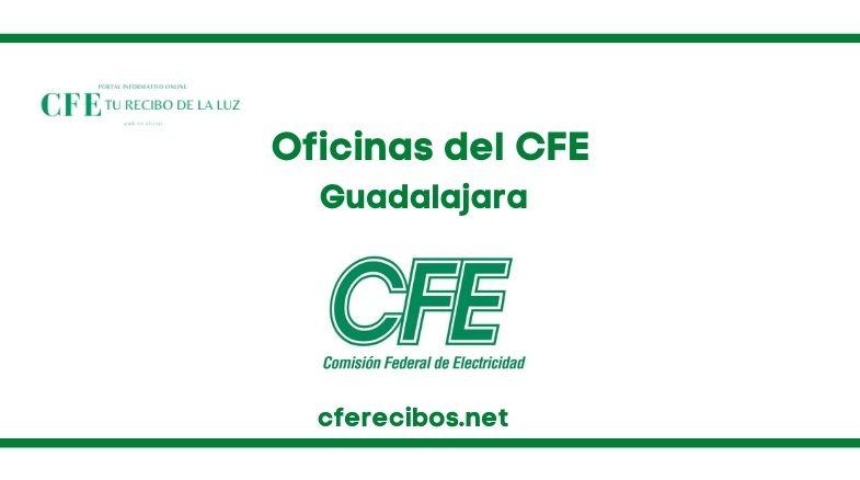 Oficinas CFE en Guadalajara
