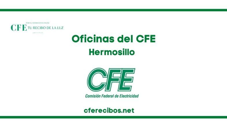 Oficinas CFE en Hermosillo