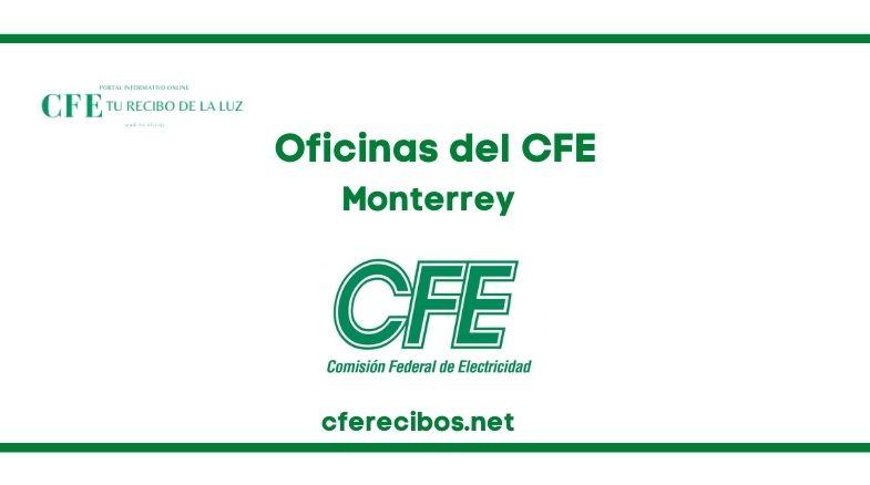 Oficinas CFE en Monterrey