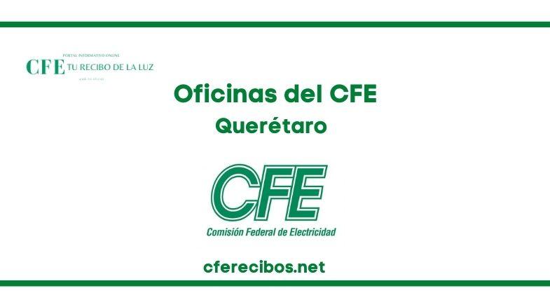 Oficinas CFE en Querétaro