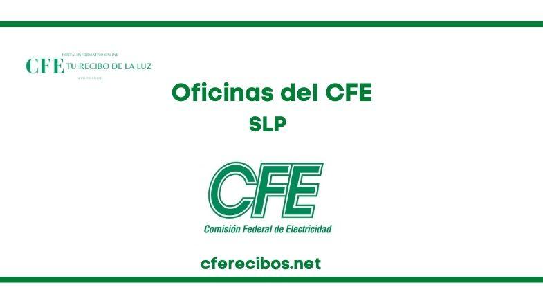 Oficinas CFE en SLP