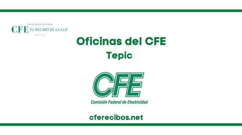 Oficinas CFE en Tepic