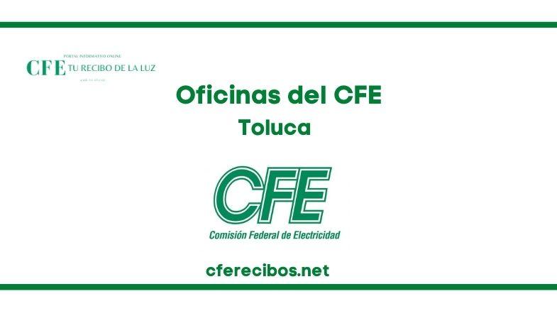 Oficinas CFE en Toluca