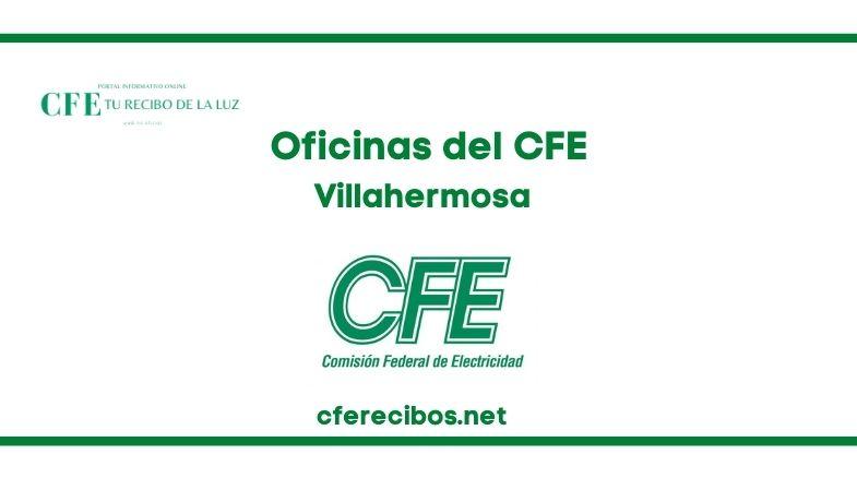Oficinas CFE en Villahermosa