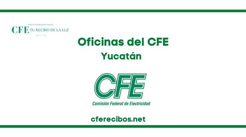 Oficinas CFE en Yucatán